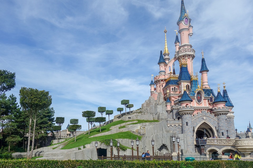 Disneyland Paris chateau